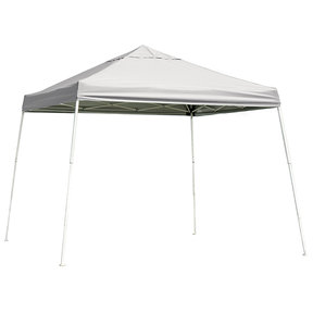 12 ft. x 12 ft. Sport Pop-up Canopy Slant Leg, White Cover