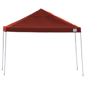 12ft. x 12 ft. Pro Pop-up Canopy Straight Leg, Red Cover