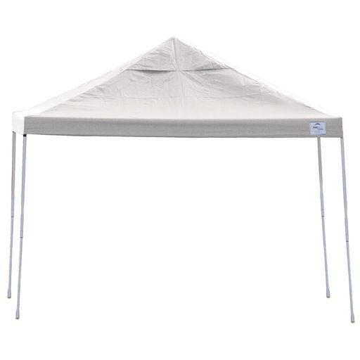 View a Larger Image of 12ft. x 12 ft. Pro Pop-up Canopy Straight Leg, White Cover