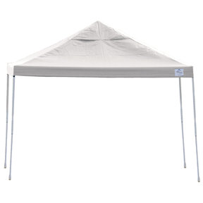 12ft. x 12 ft. Pro Pop-up Canopy Straight Leg, White Cover