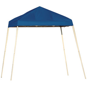 8 ft. x 8 ft. Sport Pop-up Canopy Slant Leg, Blue Cover