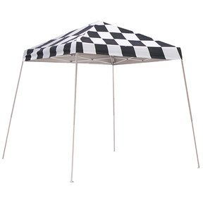 8 ft. x 8 ft. Sport Pop-up Canopy Slant Leg, Checker Flag Cover