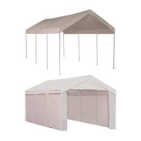 Max AP 10' x 20' 2-in-1 Canopy, White