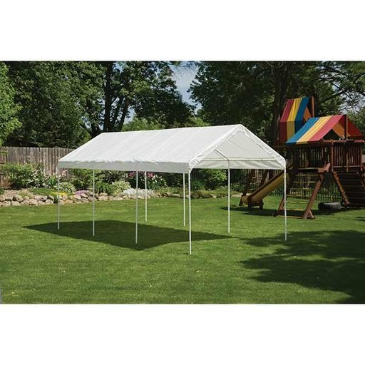 View a Larger Image of Max AP 10' x 20' All-Purpose Canopy, White
