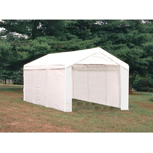 View a Larger Image of Max AP Canopy 3-in-1 10' x 20', 4-Rib Frame, White