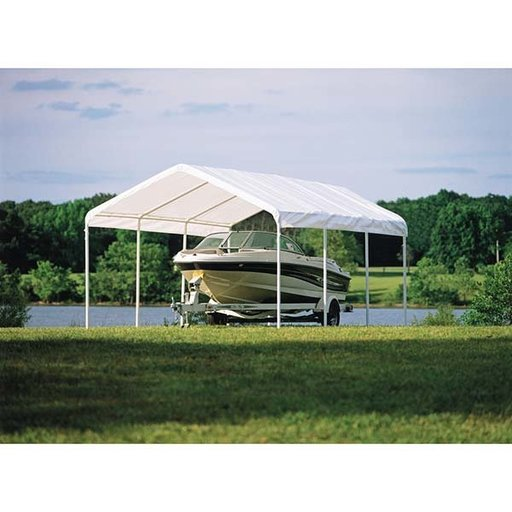 View a Larger Image of Super Max 12' x 20', Premium Canopy, White
