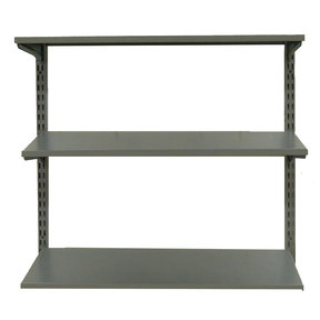 "Shelving Unit, 33"" Wall Mount with 3 steel Shelves"