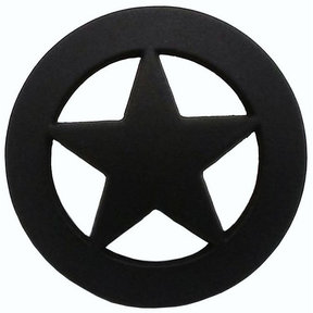 Sheriff Star Knob, Oil Rubbed Bronze