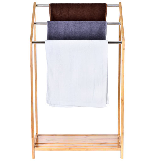 View a Larger Image of Shirt and Towel Rack
