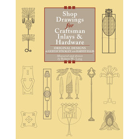 Shop Drawings for Craftsman Inlays and Hardware