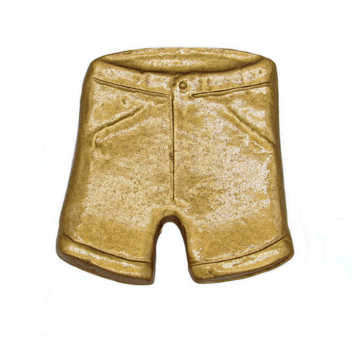 View a Larger Image of Shorts Knob, Lux Gold