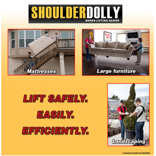 View a Larger Image of ShoulderDolly Lifting and Moving Strap