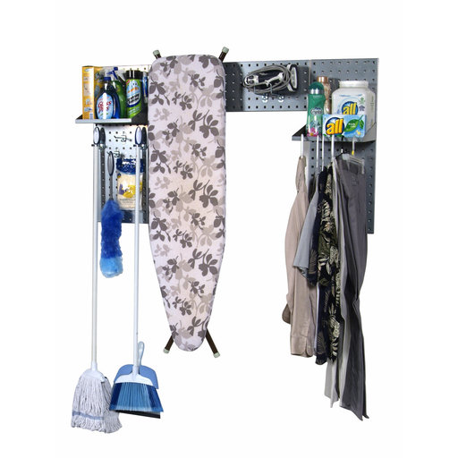 View a Larger Image of Silver Laundry Room Organizer Kit