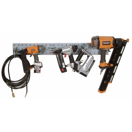 View a Larger Image of Silver Pneumatic Tool Pegboard Kit