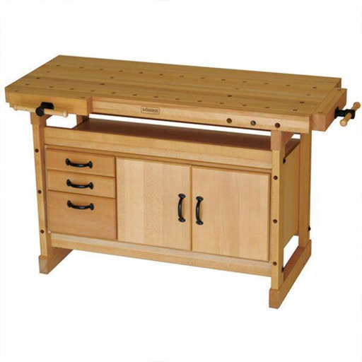 View a Larger Image of Duo Bench Cabinet Combo