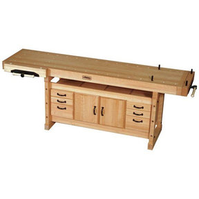 Sjobergs Elite 2500 Workbench plus Cabinet Combo