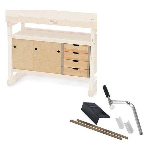 View a Larger Image of Sjoberg's Nordic Plus 1450 Cabinet and Accessory Kit