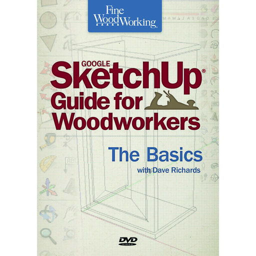 View a Larger Image of Sketchup Guide for Woodworkers DVD