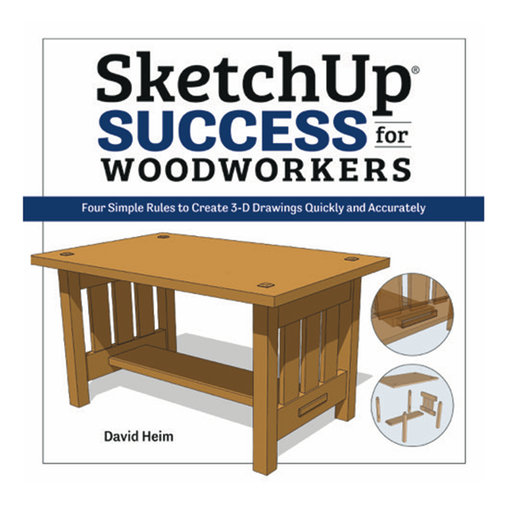 View a Larger Image of SketchUp Success for Woodworkers