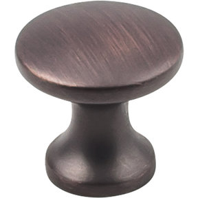 "Slade Knob 1"" Dia  Brushed Oil Rubbed Bronze"
