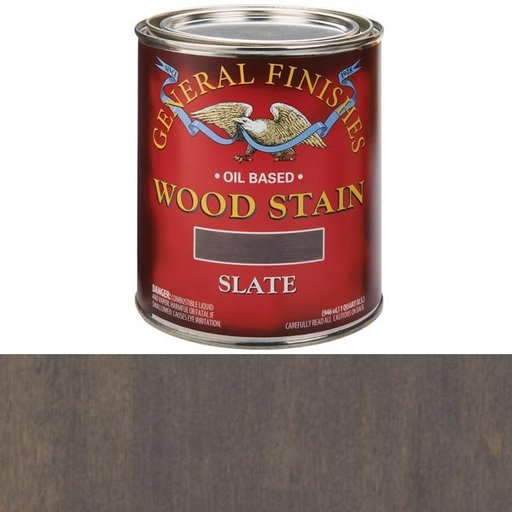 View a Larger Image of Slate Oil Stain Qt