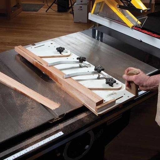 View a Larger Image of Sled Style Tapering Jig - Downloadable Plan
