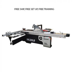 Sliding Panel Saw - 5HP 1Ph