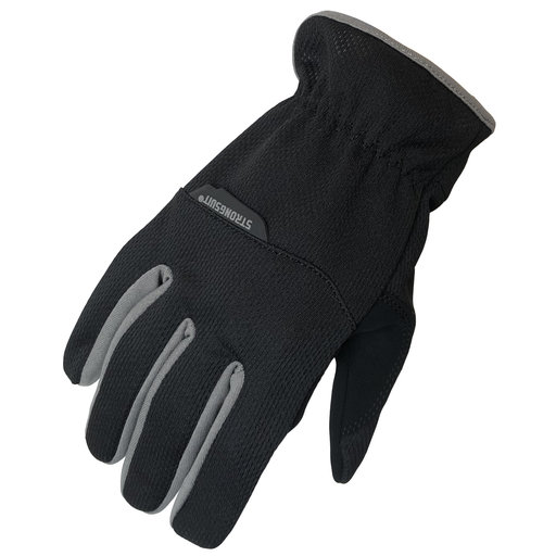 View a Larger Image of SlipOn Gloves, Black, Large
