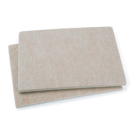 """View a Larger Image of 4-1/2"""" x 6"""" Pad Heavy Duty Self-Stick Felt Pair"""