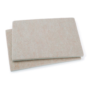 "4-1/2"" x 6"" Pad Heavy Duty Self-Stick Felt Pair"