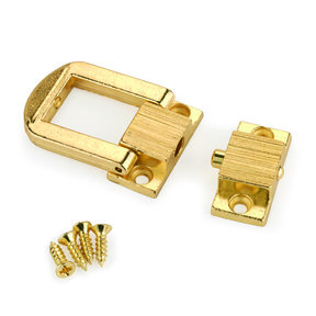 Small Box Catch Brass 1-piece