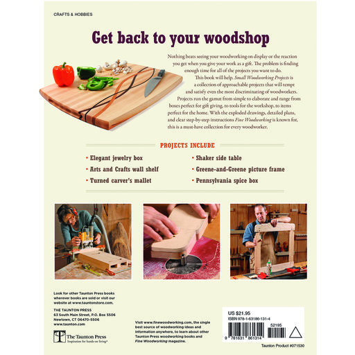 View a Larger Image of Small Woodworking Projects