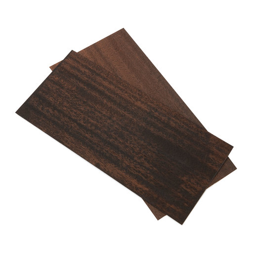 View a Larger Image of Smoked Ribbon Sapele Veneer 3 sq ft