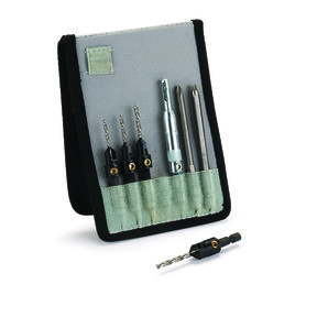 "7-Piece Drill And Drive Set Fits 1/4"" Hex Chucks"