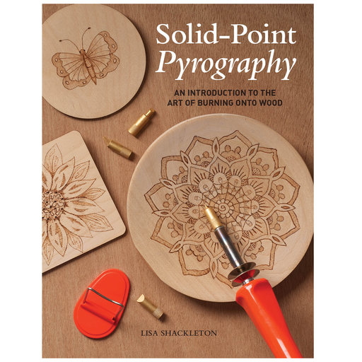 View a Larger Image of Solid-Point Pyrography