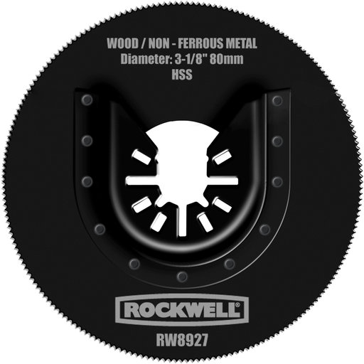 "View a Larger Image of Sonicrafter 3-1/8"" HSS Saw Blade, Model RW8927"