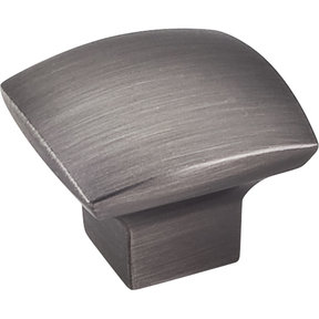 "Sonoma Knob, 1-3/16"" O.L.,, Brushed Pewter"