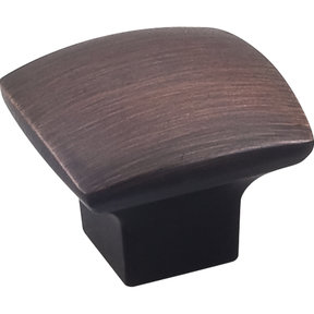 "Sonoma Knob, 1-3/16"" O.L.,, Brushed Oil Rubbed Bronze"