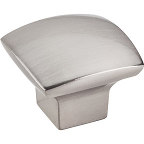 "Sonoma Knob, 1-3/16"" O.L.,, Satin Nickel"