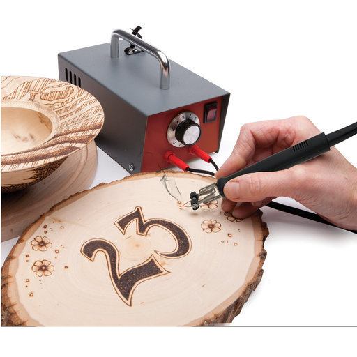 View a Larger Image of Peter Child Artist's Pyrography Machine by Robert Sorby