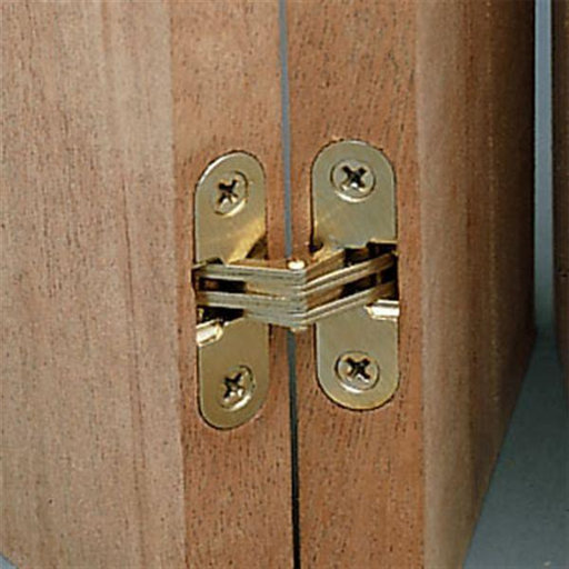 "View a Larger Image of Invisible Hinge, 3/8"" x 1"""