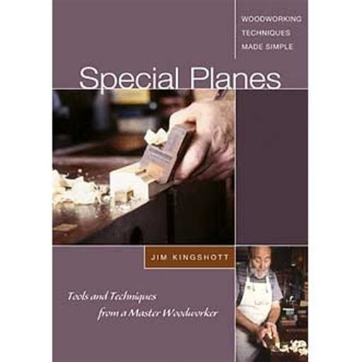 View a Larger Image of Special Planes: Tools and Techniques from a Master Woodworker (DVD)