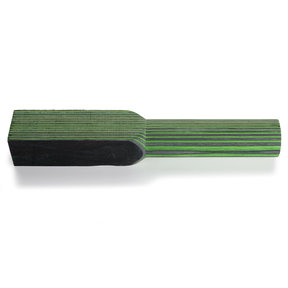 "SpectraPly Turning Blank, Green Hornet, 1-1/2"" x 1-1/2"" x 10"""