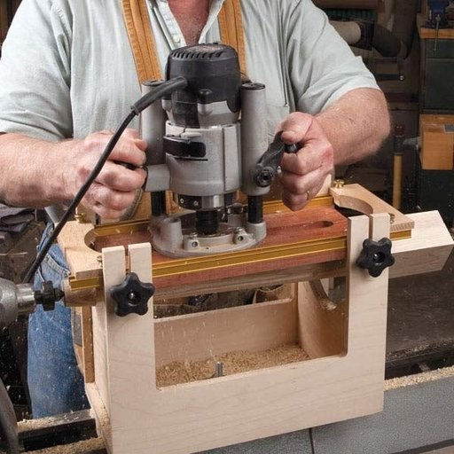 Woodcraft Magazine Spindle Fluting Jig Downloadable Plan