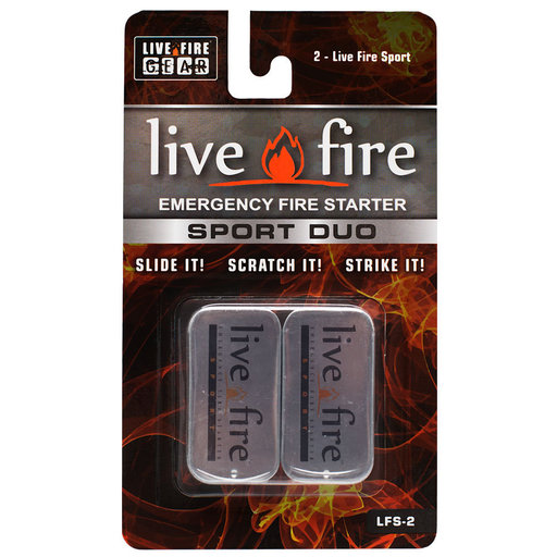 View a Larger Image of  Sport Duo Emergency Fire Starter