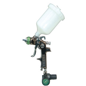 SP-324 HVLP Gravity Feed Spray Gun with Air Regulator