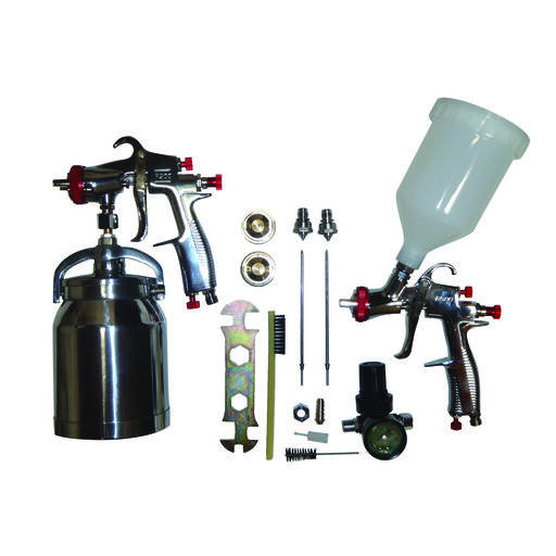 View a Larger Image of SP-33310K LVLP Spray Gun Kit