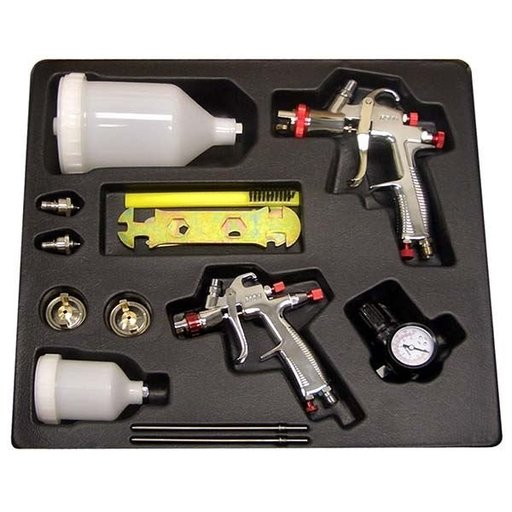 View a Larger Image of SP-33500 LVLP Gravity Feed Spray Gun Kit
