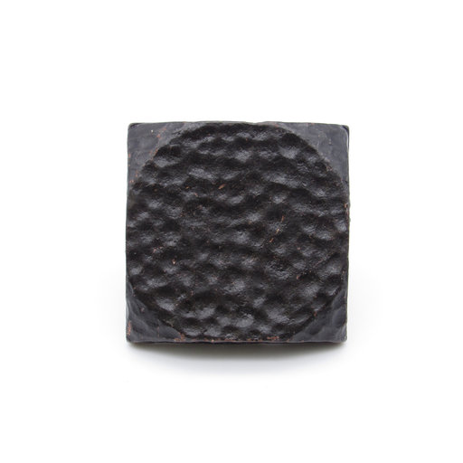 """View a Larger Image of Square 1-1/2"""" Hammered Clavo, 4-Pack, Black Oxide"""
