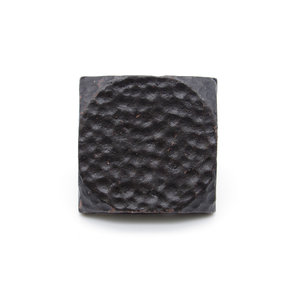 "Square 1-1/2"" Hammered Clavo Decorative Nail, 4-Pack, Black Oxide"